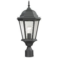 Thomas Lighting 8101EP/65 Temple Hill 1 Light 18 inch Matte Textured Black Post Mount