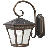 Ridgewood 1 Light 12 inch Hazelnut Bronze Outdoor Wall Sconce