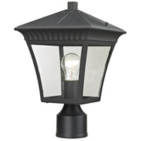 Thomas Lighting 8411EP/65 Ridgewood 1 Light 15 inch Matte Textured Black Post Mount
