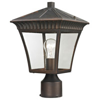 Thomas Lighting 8411EP/70 Ridgewood 1 Light 15 inch Hazelnut Bronze Outdoor Post Light