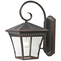 Ridgewood 1 Light 15 inch Hazelnut Bronze Outdoor Wall Sconce
