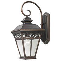 Mendham 1 Light 19 inch Hazelnut Bronze Outdoor Wall Sconce