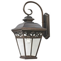 Mendham 1 Light 24 inch Hazelnut Bronze Outdoor Wall Sconce