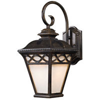 Mendham 1 Light 10 inch Hazelnut Bronze Outdoor Wall Sconce