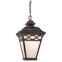 Thomas Lighting 8561EH/70 Mendham 1 Light 9 inch Hazelnut Bronze Outdoor Hanging Lantern