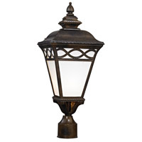 Thomas Lighting 8561EP/70 Mendham 1 Light 22 inch Hazelnut Bronze Post Mount