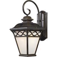Thomas Lighting 8561EW/70 Mendham 1 Light 12 inch Hazelnut Bronze Exterior Sconce