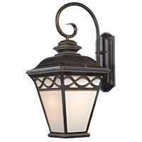 Thomas Lighting 8571EW/70 Mendham 1 Light 15 inch Hazelnut Bronze Exterior Sconce