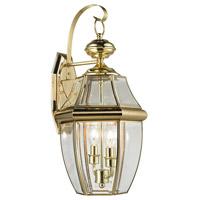 Thomas Lighting 8602EW/85 Ashford 2 Light 21 inch Antique Brass Exterior Sconce