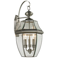 Antique Nickel Outdoor Wall Lights