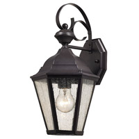 Cotswold 1 Light 15 inch Oil Rubbed Bronze Outdoor Wall Sconce