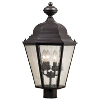 Thomas Lighting 8903EP/75 Cotswold 4 Light 18 inch Oil Rubbed Bronze Post Mount