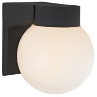 Cotswold 1 Light 7 inch Matte Black Outdoor Wall Sconce