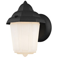 Cotswold 1 Light 9 inch Matte Black Outdoor Wall Sconce