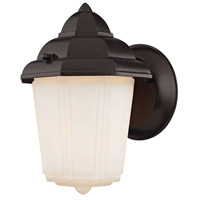 Cotswold 1 Light 9 inch Oil Rubbed Bronze Outdoor Wall Sconce