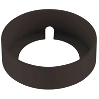 Alpha 4 inch Oil Rubbed Bronze Surface Mount Collar