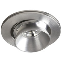 Alpha Brushed Aluminum Button Light, Multi-Directional