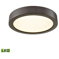 Thomas Lighting CL781031 Titan LED 6 inch Oil Rubbed Bronze Flush Mount Ceiling Light