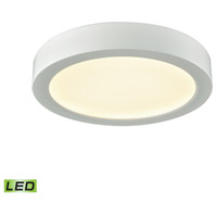 Thomas Lighting CL781034 Titan LED 6 inch White Flush Mount Ceiling Light