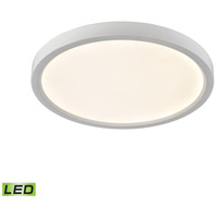 Thomas Lighting CL781334 Ceiling Essentials Titan LED 13 inch White Flush Mount Ceiling Light Round