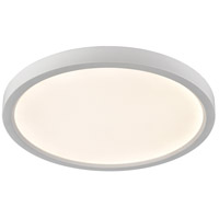 Thomas Lighting CL781434 Ceiling Essentials Titan LED 15 inch White Flush Mount Ceiling Light, Round photo thumbnail