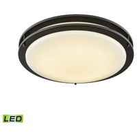 Thomas Lighting CL782031 Clarion LED 18 inch Oil Rubbed Bronze Flush Mount Ceiling Light