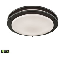 Thomas Lighting CL782041 Clarion LED 14 inch Oil Rubbed Bronze Flush Mount Ceiling Light