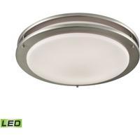 Thomas Lighting CL782042 Clarion LED 14 inch Brushed Nickel Flush Mount Ceiling Light