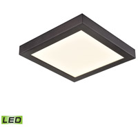 Thomas Lighting CL791331 Ceiling Essentials Titan LED 6 inch Oil Rubbed Bronze Flush Mount Ceiling Light Square