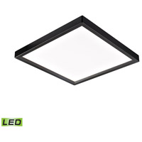 Thomas Lighting CL791431 Ceiling Essentials LED 8 inch Oil Rubbed Bronze Flush Mount Ceiling Light Square