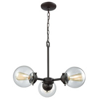 Thomas Lighting CN129321 Beckett 3 Light 22 inch Oil Rubbed Bronze Chandelier Ceiling Light