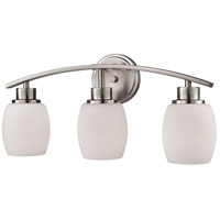 Thomas Lighting CN170312 Casual Mission 3 Light 20 inch Brushed Nickel Vanity Light Wall Light