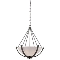 Thomas Lighting CN170341 Casual Mission 3 Light 21 inch Oil Rubbed Bronze Chandelier Ceiling Light
