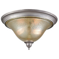 Thomas Lighting CN230237 Georgetown 2 Light 16 inch Weathered Zinc Flush Mount Ceiling Light