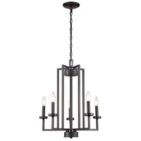 Thomas Lighting CN240521 West End 6 Light 20 inch Oil Rubbed Bronze Chandelier Ceiling Light