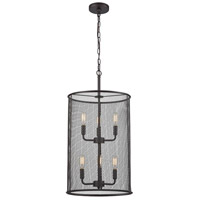Thomas Lighting CN251641 Williamsport 6 Light 14 inch Oil Rubbed Bronze Chandelier Ceiling Light