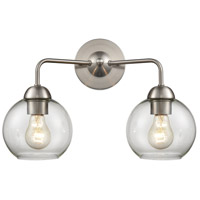 Thomas Lighting CN280212 Astoria 2 Light 16 inch Brushed Nickel Bath Bar Wall Light