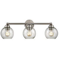 Thomas Lighting CN280312 Astoria 3 Light 25 inch Brushed Nickel Bath Bar Wall Light