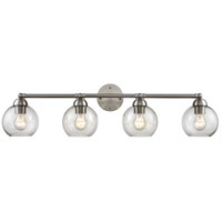 Thomas Lighting CN280412 Astoria 4 Light 35 inch Brushed Nickel Vanity Light Wall Light