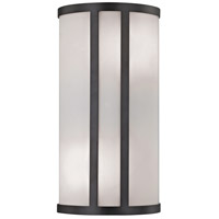 Bella 2 Light 8 inch Oil Rubbed Bronze Wall Sconce Wall Light