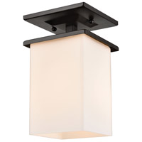 Thomas Lighting EN110136 Broad Street 1 Light 6 inch Textured Black Exterior Flush Mount