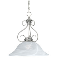 Whitmore 1 Light 16 inch Brushed Nickel Pendant Ceiling Light