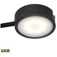 Tuxedo LED 3 inch Black Under Cabinet Light