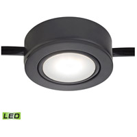 Tuxedo Swivel LED 3 inch Black Under Cabinet Light