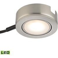 Thomas Lighting MLE423-5-16MK Tuxedo Swivel LED 3 inch Satin Nickel Under Cabinet Light