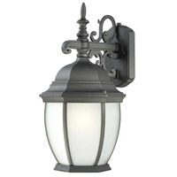 Thomas Lighting PL92297 Covington 1 Light 18 inch Black Wall Lantern