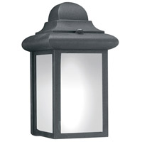 Thomas Lighting PL94807 Windbrook 1 Light 9 inch Black Wall Lantern