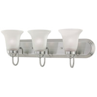 Homestead 3 Light 24 inch Satin Pewter Wall Sconce Wall Light
