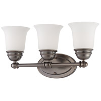 Bella 3 Light 18 inch Oiled Bronze Wall Sconce Wall Light