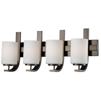 Pendenza 4 Light 27 inch Oiled Bronze Wall Sconce Wall Light